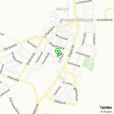 Yoga centrum na mapě