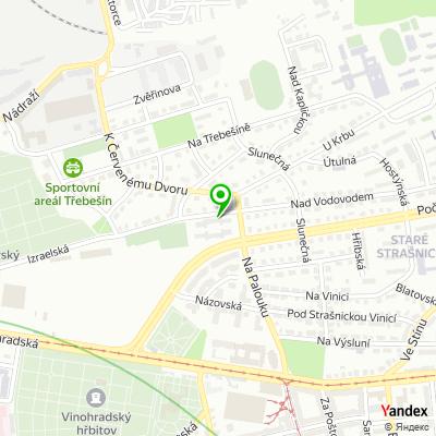 Inženýrská společnost PUDIS na mapě