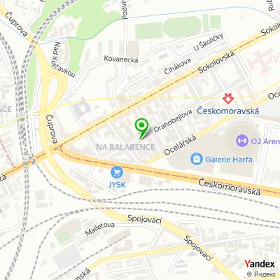Obchod Sleepcentrum na mapě