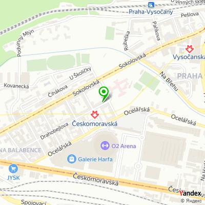 Společnost Sven Plus, s.r.o. na mapě