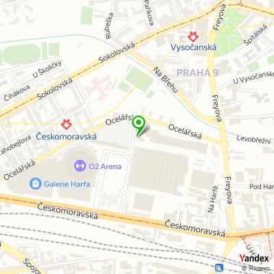 Distribuční společnost Pharmedex na mapě