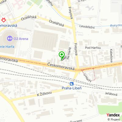 Autoservis Auto-Pneu-Praha 8 na mapě