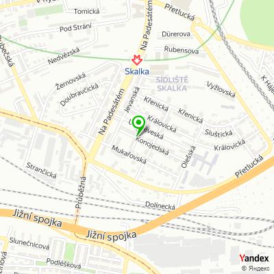Hotel Residence Dana na mapě