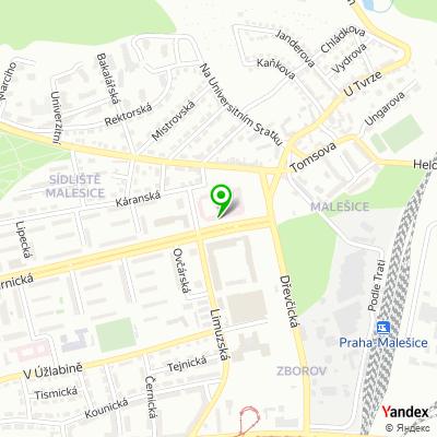 Restaurace Tree burger na mapě
