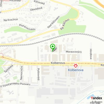 Obchodní společnost Ferros Praha na mapě