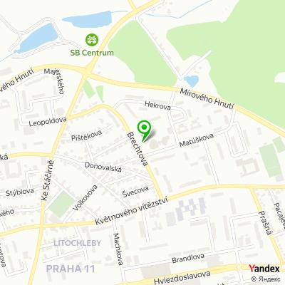 Společnost VOLMUT na mapě