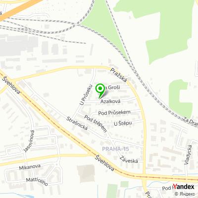 Znalecká firma Vladislav Jarý, OSVČ na mapě