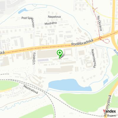 Obchodně servisní společnost Pedip na mapě