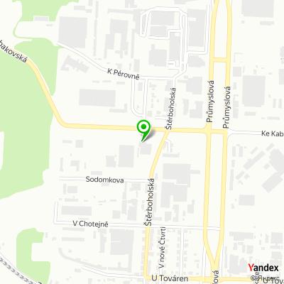 Autosalon TUkas na mapě