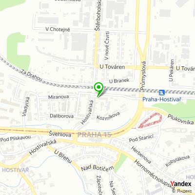 Obchodně servisní společnost Lenia na mapě