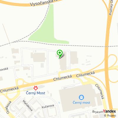 Obchod Hornbach na mapě