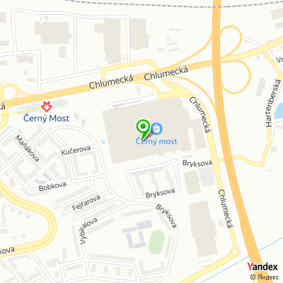 Síť obchodů Sephora na mapě