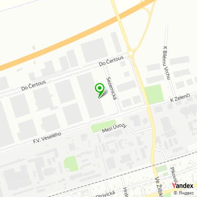Velkoobchodní společnost Lobkowicz na mapě