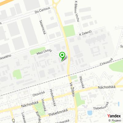 Obchodně výrobní společnost Pyrobatys na mapě