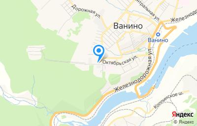 Местоположение на карте пункта техосмотра по адресу Хабаровский край, рп Ванино, ул Строителей, д 16