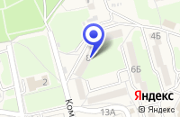 Схема проезда до компании КУЛЬТУРНО-СПОРТИВНЫЙ КОМПЛЕКС ИМПУЛЬС в Советском