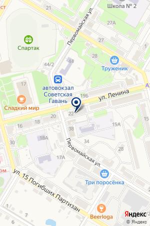 МАГАЗИН БРИГАНТИНА на карте Советского (Тюмень)