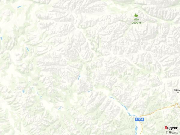 населенный пункт Рудный на карте