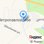 Военторг №27 на карте Южно-Сахалинска