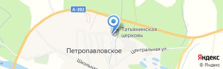Фельдшерско-акушерский пункт на карте Анивы