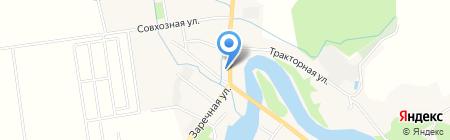 На Заречной улице на карте Анивы