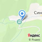 Аптека №3 на карте Южно-Сахалинска