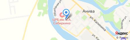 Детский сад №3 на карте Анивы
