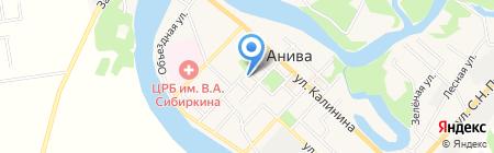 Ирина на карте Анивы