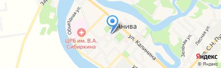 Аптека Плюс на карте Анивы