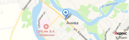 ДЮСШ на карте Анивы