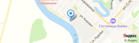 Сахалинрыбвод ФГБУ на карте Анивы