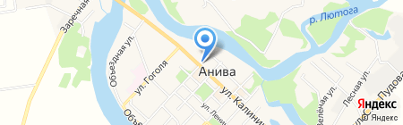 Уют на карте Анивы