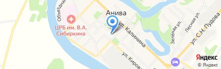 СПЕЦЗАЩИТА на карте Анивы