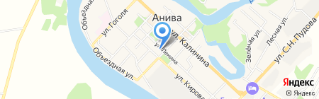 Совкомбанк на карте Анивы