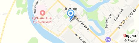 Банкомат Газпромбанк на карте Анивы