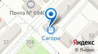 Компания Сагори на карте