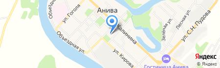 Умка на карте Анивы