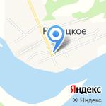 Сельская библиотека на карте Южно-Сахалинска
