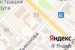 Схема проезда до компании Магазин строительных материалов в Аниве