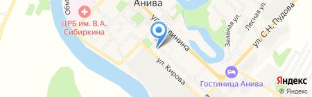Россельхозбанк на карте Анивы