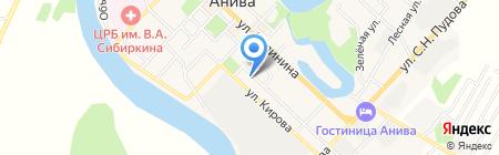 Ната на карте Анивы