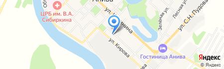 Новинка на карте Анивы