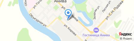 Зоомагазин на карте Анивы