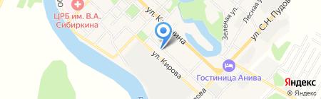 Анивские коммунальные системы на карте Анивы