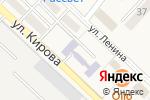 Схема проезда до компании Детский сад №1 им. Ю.А. Гагарина в Аниве