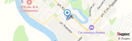 Фармация на карте Анивы