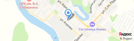 Прокуратура на карте Анивы