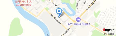 Электромонтаж на карте Анивы
