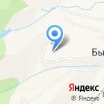 Лань на карте Южно-Сахалинска