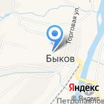 Быковская участковая больница на карте Южно-Сахалинска